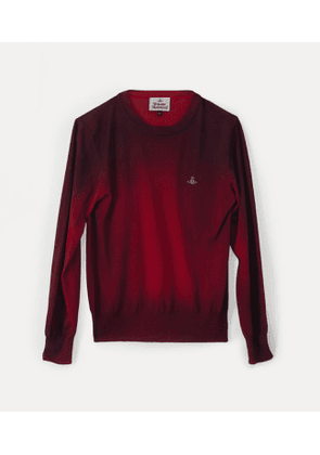 Roundneck Knit Red/Fuchsia