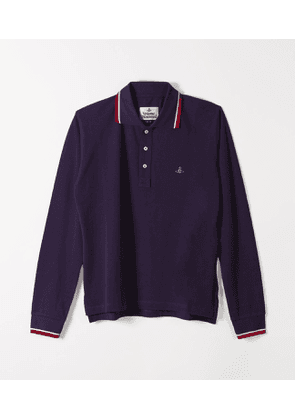 New Polo Long Sleeve Red