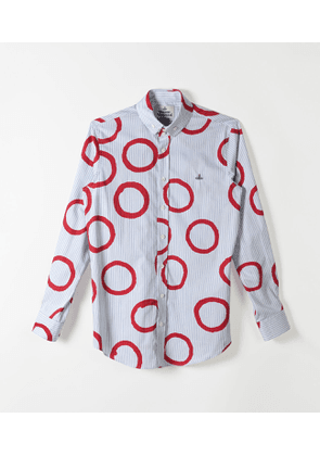 Two Button Krall Stripes Pinocchio Print Red