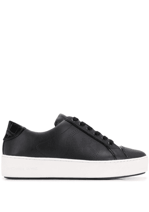 Michael Michael Kors lace-up leather pilmsolls - Black