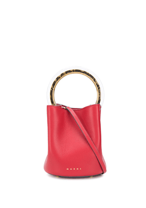 Marni small Panier bucket bag - Red