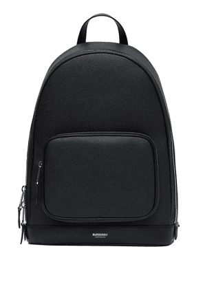 Burberry grainy logo backpack - Black