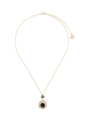Dolce & Gabbana floral embellished necklace - GOLD