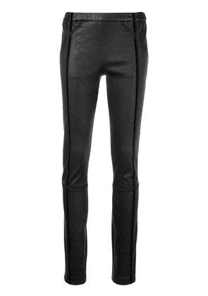 Haider Ackermann slim-fit biker leggings - Black