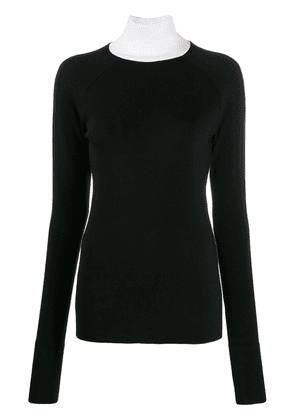 Haider Ackermann round neck jumper - Black