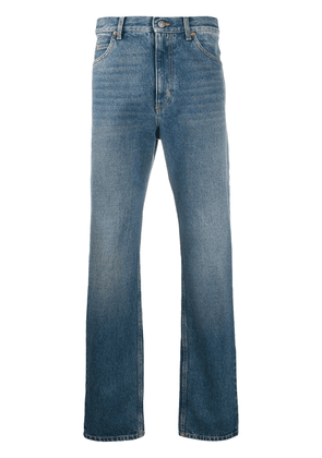Gucci faded straight-leg jeans - Blue