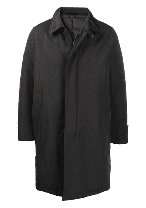 Tom Ford single-breasted mid-length coat - Black