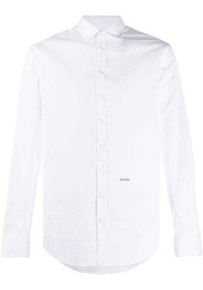 Dsquared2 long sleeve button-up shirt - White