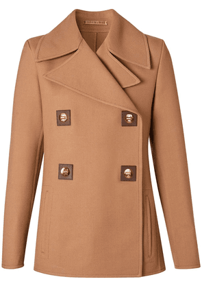 Burberry double-faced peacoat - Brown