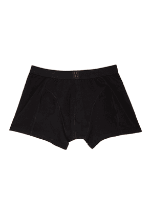 Nudie Jeans Black Solid Boxer Briefs