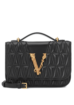 Virtus quilted leather shoulder bag