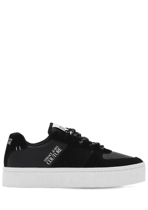 35mm Logo Print Lace-up Sneakers