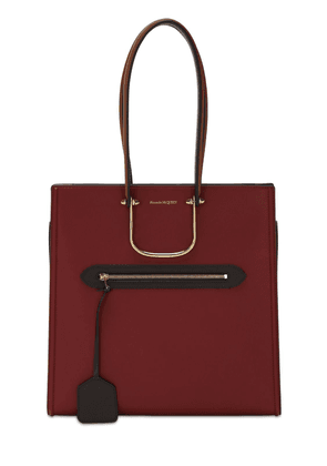 The Tall Story Two Tone Leather Tote Bag