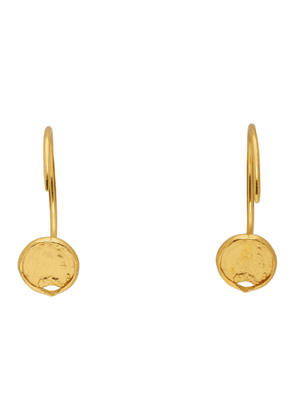 Dear Letterman Gold Zahia Earrings