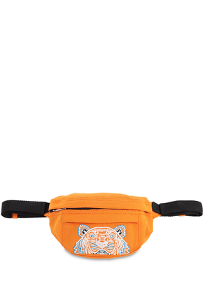 Tiger Coated Canvas Belt Bag