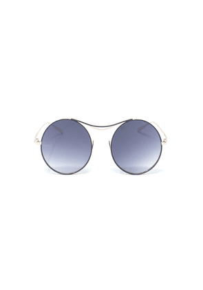 Limited Edition Sulis Sunglasses with Chain - Grey & Rose Gold