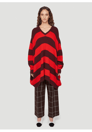 Marni Oversized Cape Sweater in Red size IT - 38