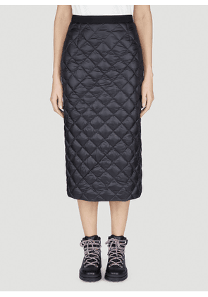 Moncler Quilted Skirt in Black size IT - 38