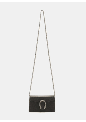 Gucci Mini Crystal Dionysus Bag in Black size One Size