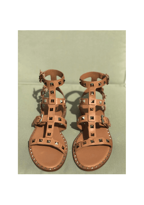 Ash Pacific Tan Studded Sandals