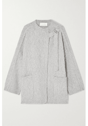 Chloé - Wool And Cashmere-blend Cape - Gray