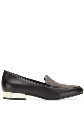 Michael Michael Kors monogram print loafers - Black