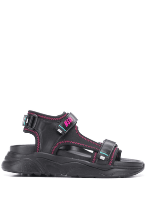 MSGM touch-strap chunky sandals - Black