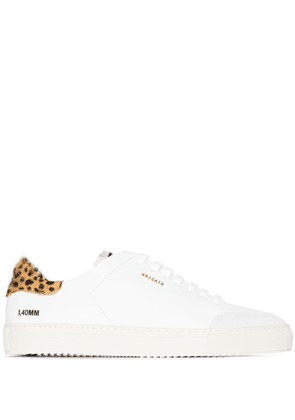 Axel Arigato Clean 90mm animal-print sneakers - White
