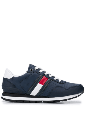 Tommy Jeans signature stripe sneakers - Blue