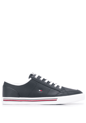 Tommy Hilfiger signature stripe sneakers - Blue