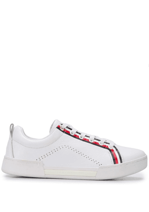 Tommy Hilfiger signature stripe sneakers - White