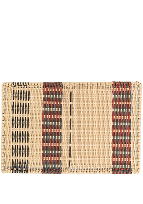 MARNI INTERIORS Cancer woven tablemat - NEUTRALS