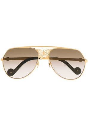 Anna Karin Karlsson Miss Rosell sunglasses - GOLD