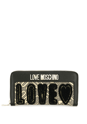 Love Moschino LOVE wallet - GOLD