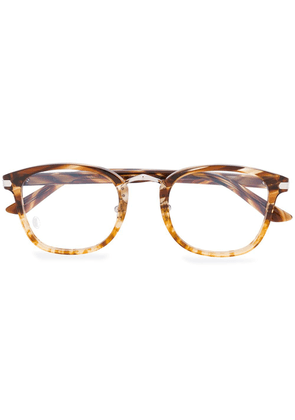 Cartier Eyewear rectangular-frame glasses - Brown