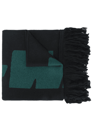 Off-White logo scarf - Black