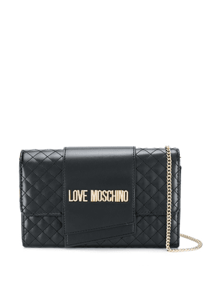 Love Moschino quilted chain-strap bag - Black