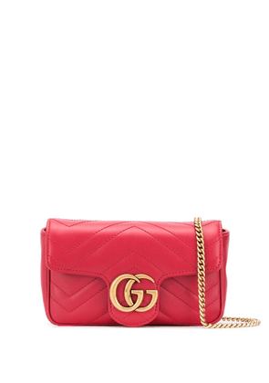 Gucci GG Marmont quilted crossbody bag - 6433 RED