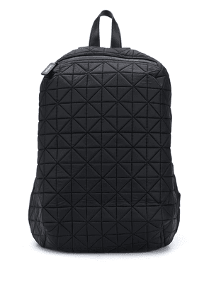 VEE COLLECTIVE quilted effect backpack - Black