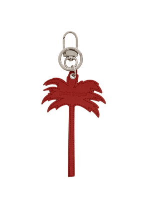 Palm Angels Red Palm Tree Keychain