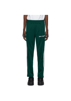 Palm Angels Green Chenille Track Pants