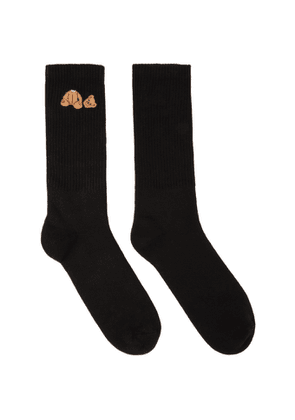 Palm Angels Black Bear Socks