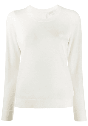 Michael Michael Kors button-down back T-shirt - NEUTRALS