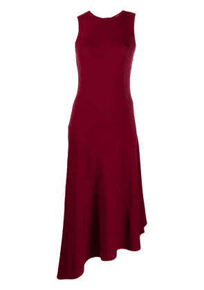 Michael Michael Kors asymmetric hem dress - Red