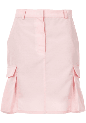 Walk Of Shame cargo mini skirt - PINK