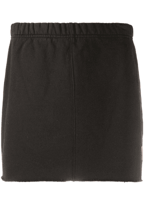 Heron Preston jersey mini skirt - Black