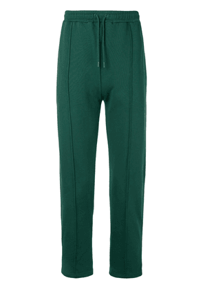 Kenzo logo-patch track pants - Green