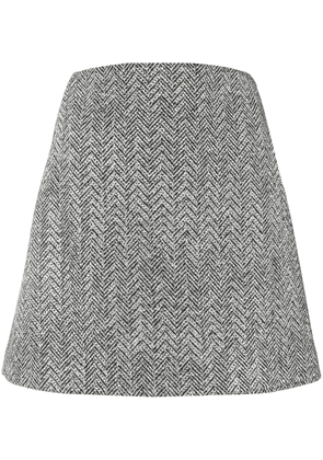 Ermanno Scervino embellished mini skirt - Grey