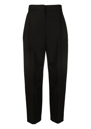 Alexander McQueen cropped tailored trousers - Black