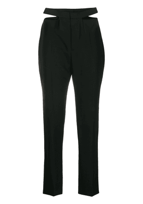 Haider Ackermann cut-out tailored trousers - Black
